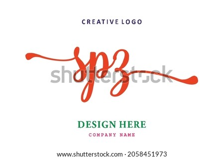 SPZ lettering logo is simple, easy to understand and authoritative