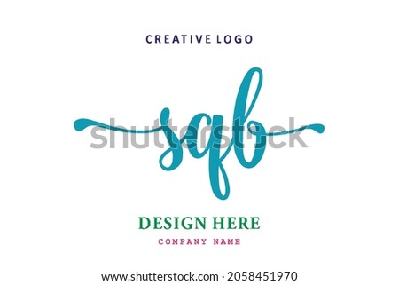 SQB lettering logo is simple, easy to understand and authoritative