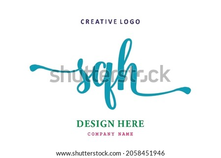 SQH lettering logo is simple, easy to understand and authoritative