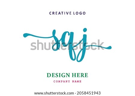 SQJ lettering logo is simple, easy to understand and authoritative