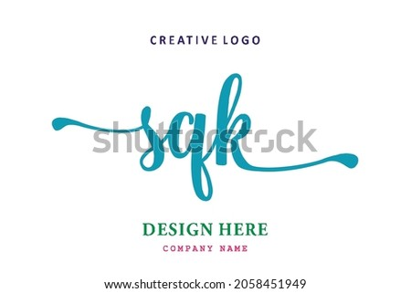 SQK lettering logo is simple, easy to understand and authoritative