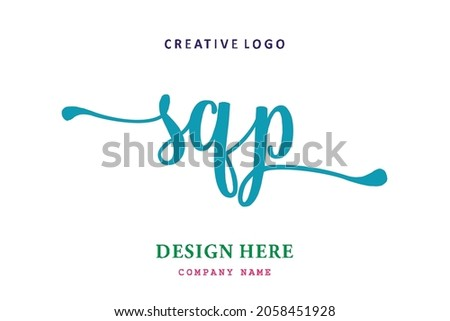 SQP lettering logo is simple, easy to understand and authoritative