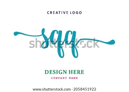 SQQ lettering logo is simple, easy to understand and authoritative