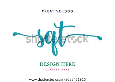 SQT lettering logo is simple, easy to understand and authoritative