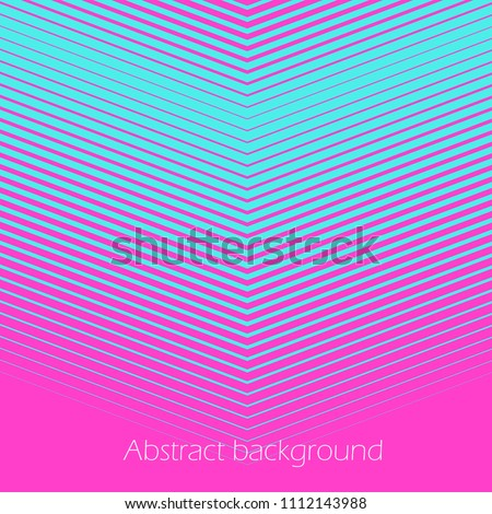 square abstract background with
