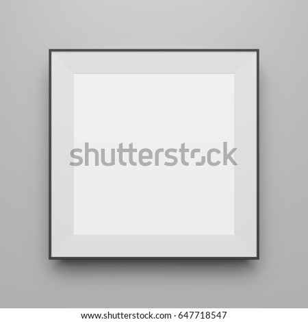 square black vector frame