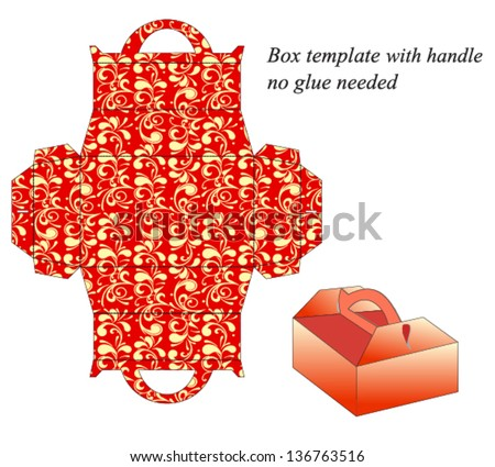 vector images illustrations and cliparts square box template with