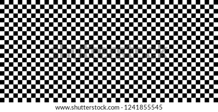 Square checkered, chess board background Black white check board  Flat vector checker board Geometric seamless elements line pattern Retro pop art 80 70 years style Textures Race flag or racing flags