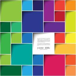 Square color background