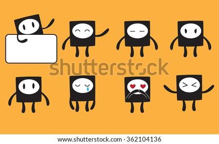 Square Emoticon #362104136