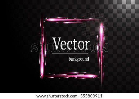 square frame shiny background