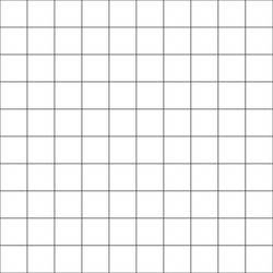 Square grid on paper seamless pattern. Millimeter paper sheet background.