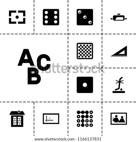 square icon collection of 13