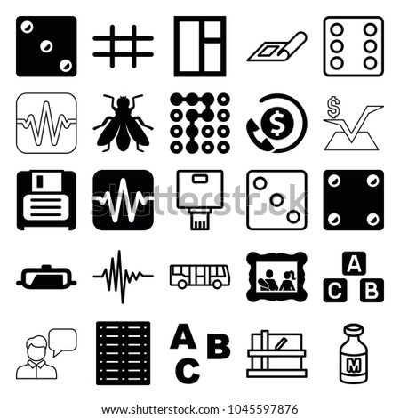 square icons set of 25