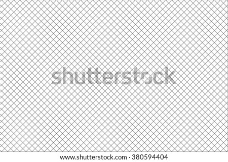 square mesh pattern on white