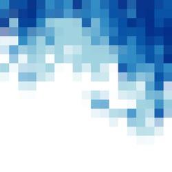 square mosaic vector background corner design
