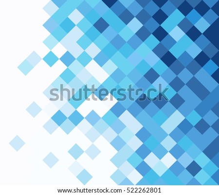 square mosaic vector background
