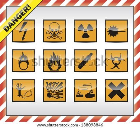 Hazard Symbols Download Free Vector Art Stock Graphics Images