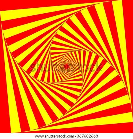 square spiral graphic design  2