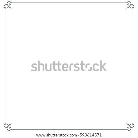 Borders Line Vectors - Download Free Vector Art, Stock Graphics & Images