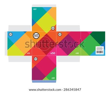 square tissue box dimensions 2