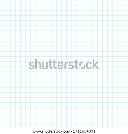 Square wide grid pattern art  straight line. Wide grid design for print. Education. School notebook paper grid art . Straight line table. Seamless vector illustration.