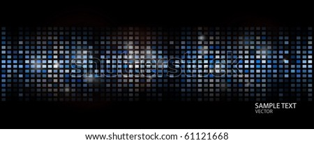 Squared vector modern background
