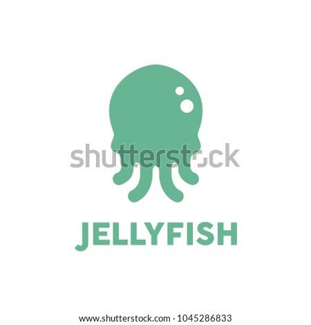 squid   jellyfish logo design