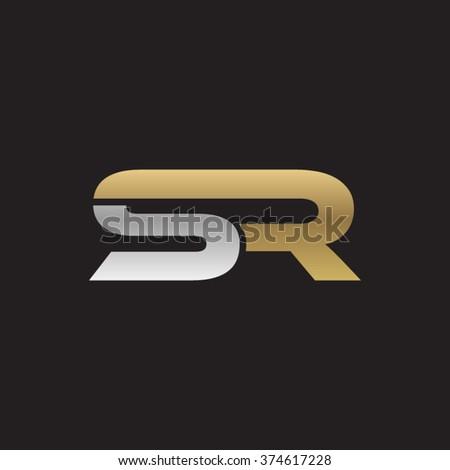 sr company linked letter logo