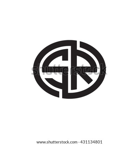 Vector Images Illustrations And Cliparts Sr Initial Letters Looping Linked Ellipse Monogram Logo Hqvectors Com