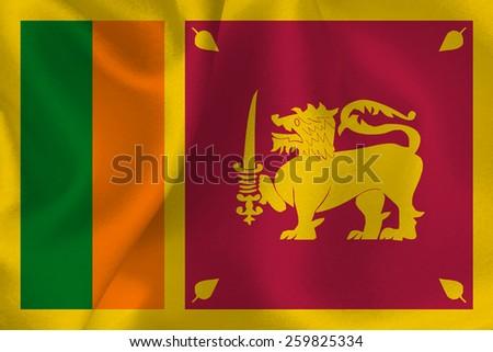 Sri Lanka flag flag