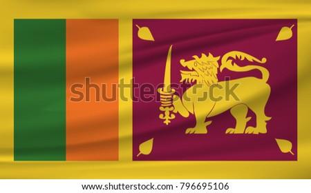 sri lanka national flag