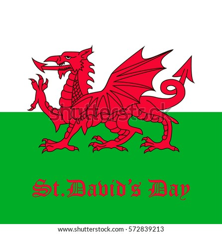 st david's day flag of wales