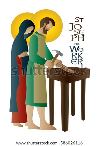 st joseph the worker  abstract
