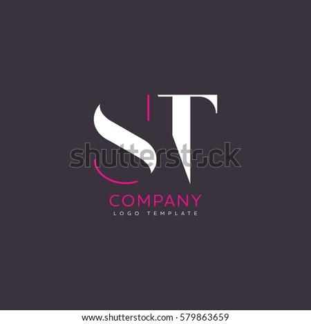 ST logo Stok fotoğraf ©