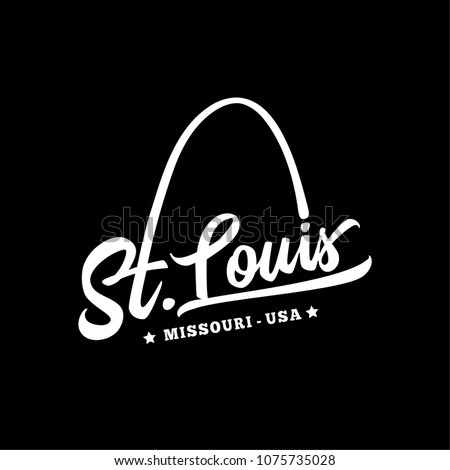st. louis. black and white...