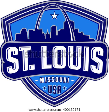 St.louis . Vector and illustration.