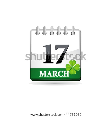 St. Patrick calendar