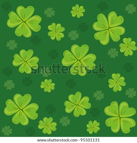 St.Patrick's background - stock vector