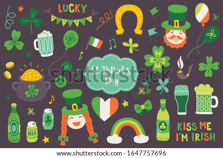 st patrick's day elements