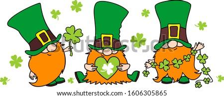 st patrick's day irish gnomes