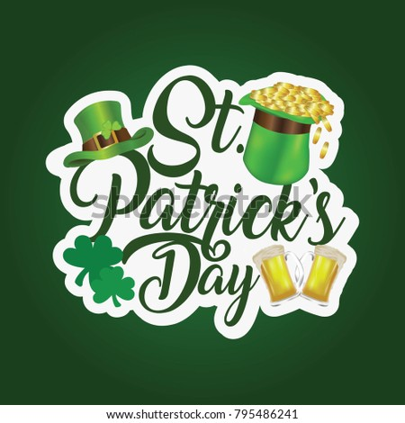 St Patrick's day (17 March) #795486241