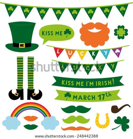 st patrick's day vector design
