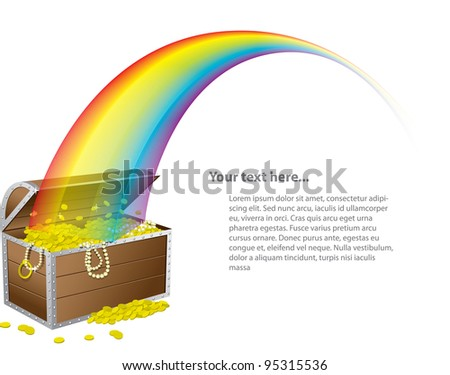 st patrick's treasure chest