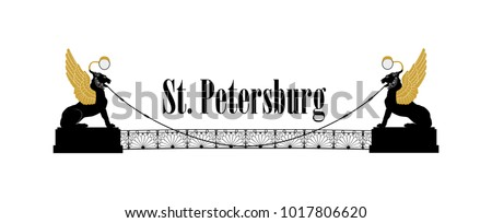st petersburg city symbol