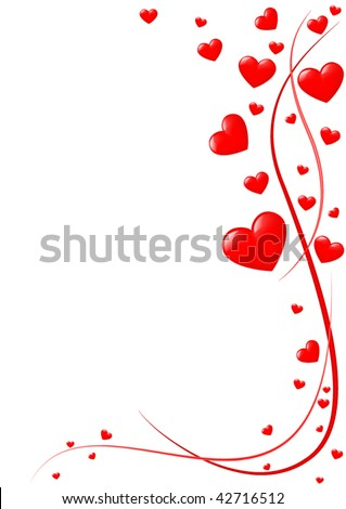 St. Valentine's greeting card