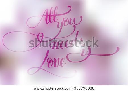 st valentine s love hand