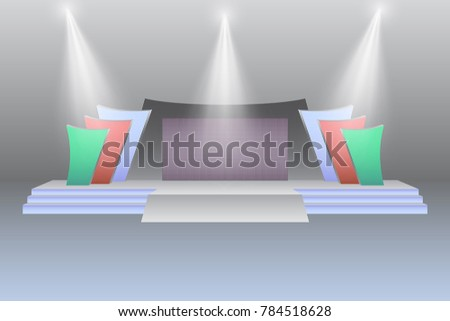 stage led screen modern style