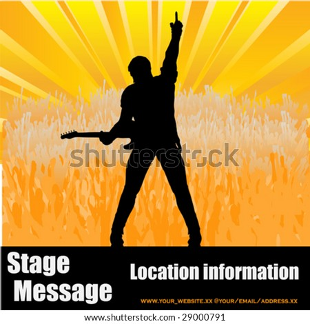 stage message