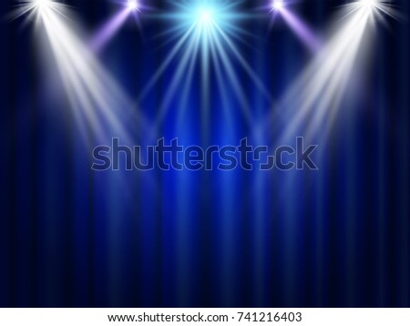 stage projector light on the